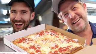 VISITING JEFF'S HOMETOWN FOR NEW YORK'S BEST PIZZA!!