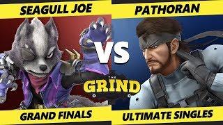 Smash Ultimate Tournament - Pathoran (Snake) Vs. Seagull Joe (Simon, Wolf) - The Grind 69 SSBU GF