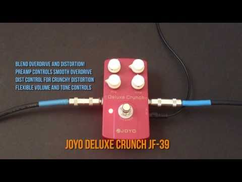 Joyo Deluxe Crunch JF-39 Pedal Review Demo