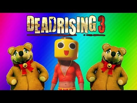 Dead Rising 3 Funny Moments Gameplay 2 - Teddy Bear, RollerHawg, Electric Crusher, Football Zombies - Smashpipe Games