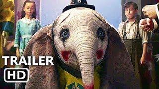 DUMBO Trailer Brasileiro LEGENDADO (Tim Burton, 2019)