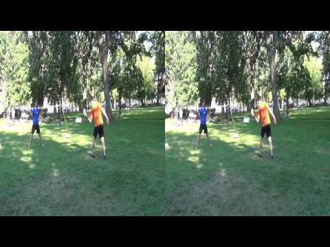 Mens Footbag championship 2012 Akisphere 2012 Finals en simple masculin 3D HD