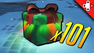 Unboxing 101 Winter Wonderland Loot Boxes in Overwatch