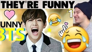 BTS Funniest Moments Reaction!