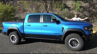 The 2021 Ram TRX Is an Insane 700-Horsepower, $90,000 Hellcat Pickup Truck