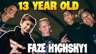 Meet the New Youngest Member of FaZe Clan (FaZe H1ghSky1)