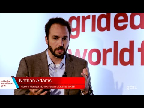 ABB Interviewed at Grid Edge World Forum 2016