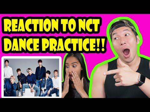 NCT 127 - Cherry Bomb DANCE PRACTICE REACTION VIDEO!!!