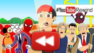 YouTube Rewind 2016: Lhugueny Edition | #YouTubeRewind