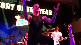 Story of the year - Until the day I die LIVE on WARPED REWIND CRUISE