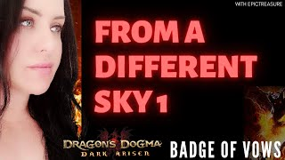 Dragon's Dogma FROM A DIFFERENT SKY 1 Cassardis Badge of vow location