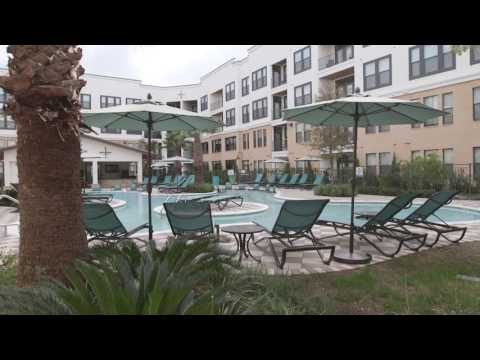 Resort-Style Swimming Pool at AMLI Campion Trail - Las Colinas Luxury Apartments