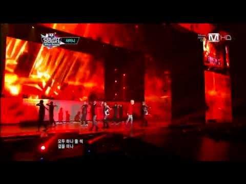 130425 Mnet 엠카운트다운 SHINee 샤이니 루시퍼+드림걸+아름다워(1080p)