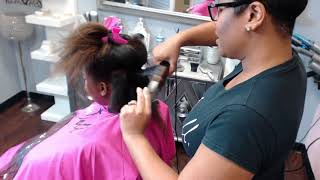 How to do the perfect curls on 4b natural hair