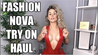FASHION NOVA | TRY ON HAUL