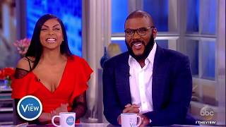 Taraji P. Henson, Tyler Perry Talk Bid Battle With Blue Ivy, Diversity, 'Acrimony' & More | The View