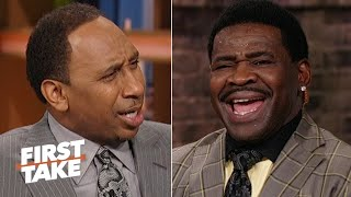 Michael Irvin accuses Stephen A. of being 'blasphemous' for Cowboys snub | First Take