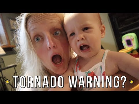 We Made It Just in Time! | Tornado Warning & Crazy Weather Delay Our Travel Day!