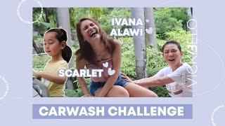 CarWash Challenge with Scarlet and Ivana Alawi | Vicki Belo