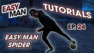 Learn how to do the SPIDER - Street Football Skill - Easy Man Tutorials Ep. 24