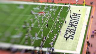 Washington Husky Football: Apple Cup 2009 Tilt-Shift Time-Lapse