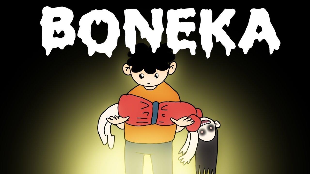 Kartun Lucu Misteri Rumah No 99 Animasi Horor Kartun