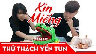 Chơi Khám Răng Cá Sấu Ăn Tỏi (Crocodile Attack Mini) | Thử Thách Yến Tun
