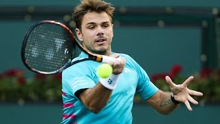 ATP R3 Wawrinka Hot Shot