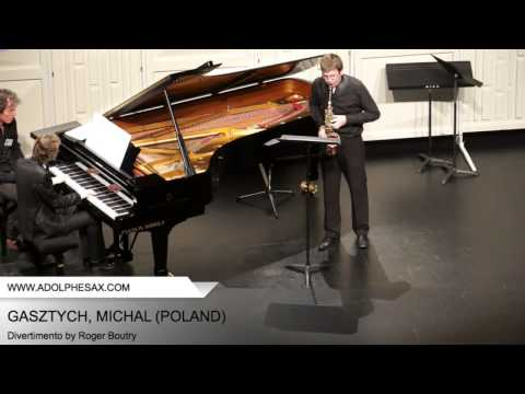 Dinant 2014 - Gastzych, Michal - Divertimento by Roger Boutry