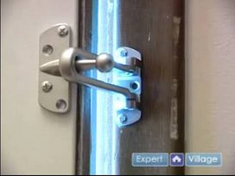 Home Security & Safety Tips : Installing a Door Security ...