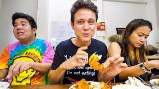 Ancient Thai Food - JUMBO SHRIMP CURRY at 8 Seat Restaurant in Bangkok!   สำรับสำหรับไทย