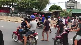Bạo Loạn ở bình thuận- cảnh sát đánh nhau với dân