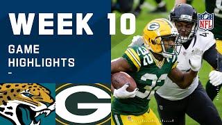 Jaguars vs. Packers Week 10 Highlights | NFL 2020