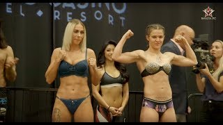 Invicta FC 32 Ceremonial Weigh-Ins - MMA Fighting