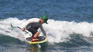 2 new SUP surf tricks by 12 year old Nathan van Vuuren