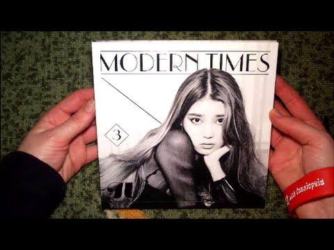 Unboxing IU 아이유 3rd Korean Studio Album Modern Times (Normal Edition)