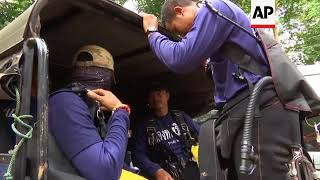 Thai Navy Seal says trapped boys interested in World Cup quarter-finals