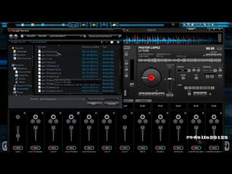 Descargar Segundo Pack de sampler Para Virtual Dj  Todas Las Versiones