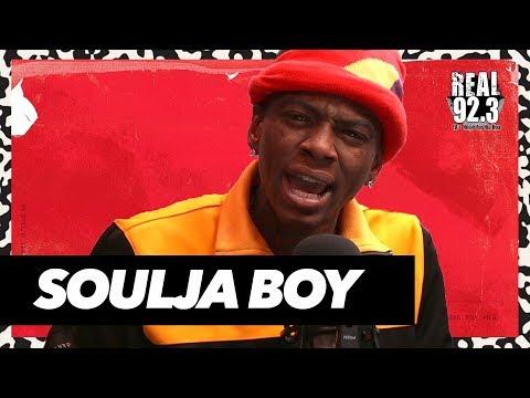 Soulja Boy DRAGS Kanye West & Tyga + Talks Issue with Drake