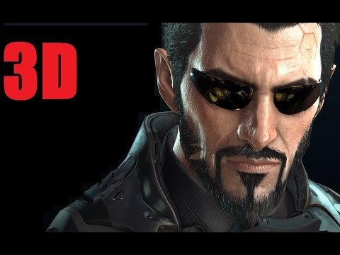 Deus Ex Mankind Divided 3D Gameplay (SBS) by Rob Cram