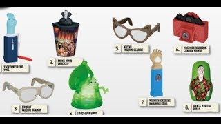 Hotel Transylvania 3 July 2018 Mcdonalds Happy Meal Toys Indonesia Predictions Tickets To Toy Time