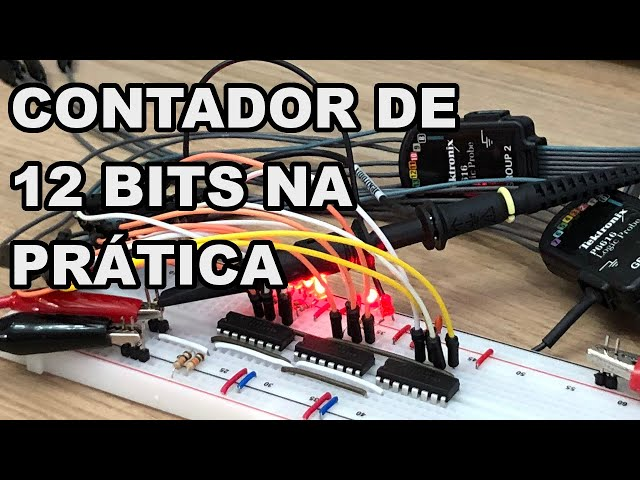 INCRÍVEL! CONTADOR DE 12 BITS FÁCIL! | Conheça Eletrônica #207