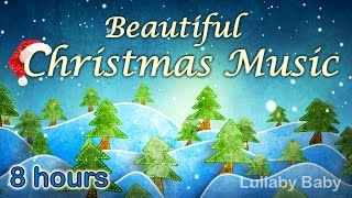 ✰ 8 HOURS ✰ CHRISTMAS MUSIC Instrumental  ♫ Christmas Music Playlist ✰ Peaceful Piano ♫ Best Mix