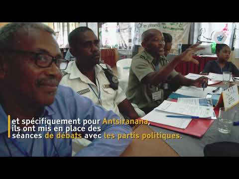 Multi stakeholder collaboration in securing elections - Madagascar