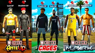 FIRST EVER DF TRIATHLON RACE IN NBA 2K21... WHICH DF MEMBER can COMPLETE EVERY MODE FIRST?