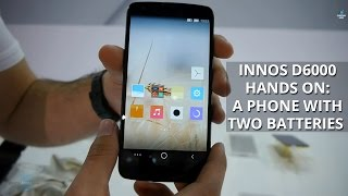 Innos D6000 hands on: A phone with two batteries