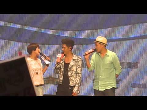 2013.08.31 HITFM這夏樂翻了 SUMMER PARTY 蔡旻佑 翻不完的夏天+女大田力小+好不好+我可以