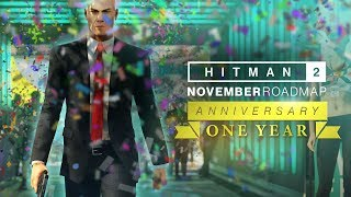 HITMAN 2 November roadmap revealed