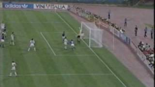 1990 FIFA World Cup Final Argentina 0 West Germany 1.wmv