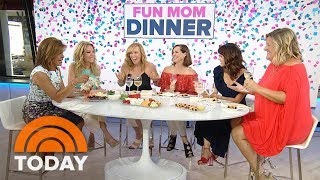 KLG and Hoda Play 'Never Have I Ever' with 'Fun Mom Dinner' Stars | TODAY
